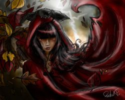 red riding blood by Delusionist13