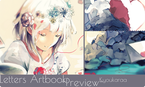 Letters Artbook Preview by KyouKaraa