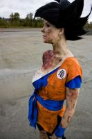 Goku Cosplay - Exhausted by Elita-01