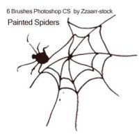 Painted Spiders by zzaarr-stock