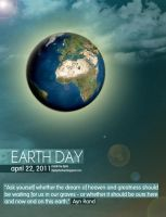 Earth Day Poster by theDJOLE
