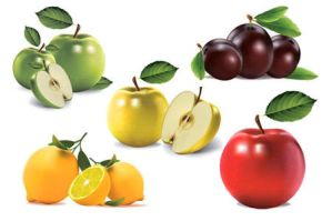 Free Vector Apples Lemons by FreeIconsdownload