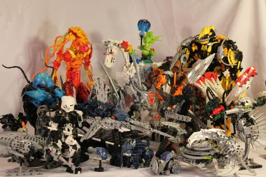 Bionicle MOCs - December 2011 by Rahiden