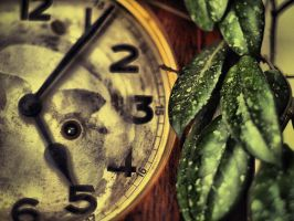 old clock by Trifoto