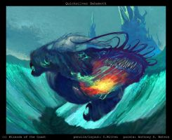 Quicksilver Behemoth by caramitten
