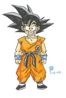 DB-017: Goku at the Tournament by S-Shield