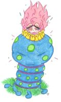 Tomba Vore: Consumed by a Blue Sea Anemone by KnightRayjack
