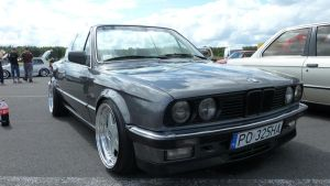 BMW E30 Cabrio - Front by Arek-OGF