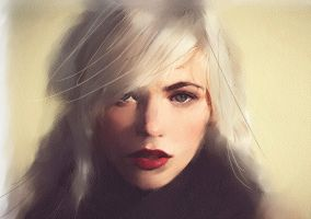 Blond2 by TheArtofChurchwell
