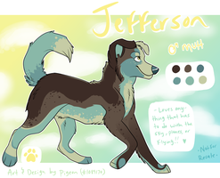 Jefferson by onlyhalfpigeon