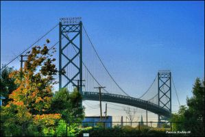 Ambassador Bridge by PatriciaRodelaArtist