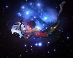 Wheatley+Chell 'Dreaming in the Stars by JasmineAlexandra