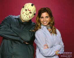 Jason meets Charisma Carpenter by AndrewHobart
