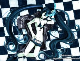 Black Rock Shooter by Saiko--Rohime
