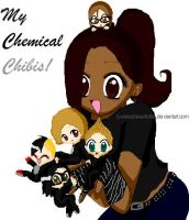 My Chemical Chibis by LOVEisAbeautifulLIE
