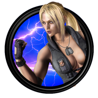 Nina Williams Avatar 04 by SpyrousSeraphim