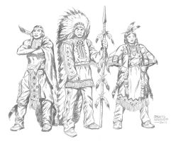 INDIANS by benitogallego