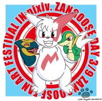 Zangoose Day 2013 by Coshi-Dragonite