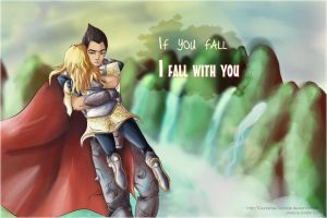 If you fall... by Godaime-Tsunade