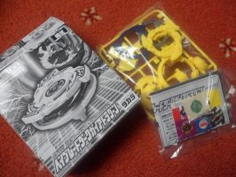 Special Beyblade with the movie dvd by Gemgemchan