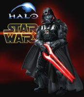 Halo Goes Star Wars: Darth Vader by Rene-L
