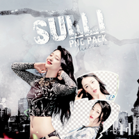 [f(x)] Sulli Png Pack by KorecanMelike
