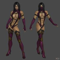 Mileena Humanoid re-upload by DragonLord720