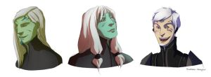 SGA OC sketches by M-hourglass