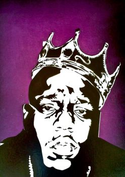 Notorious B.I.G. by CharcoalPortrayer