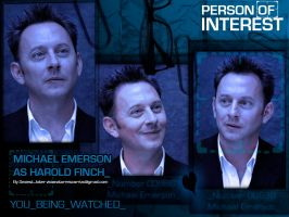 Michael Emerson as Harold Finch / wallpaper by SexiestJoker