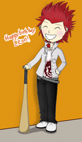 Happy birthday Leon! by Zhu-Yintai