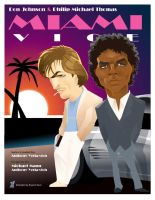 Miami Vice 1984 by braeonArt
