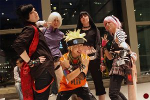 Naruto: Rock the Con by Ai-rika