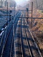 Railroad Tracks 12202471 by StockProject1