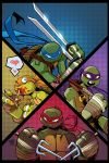 TMNT Amazing Adventures 3 Cover IDW by Red-J