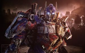 Prepare for Battle -- Optimus Prime by Lady-Elita-One