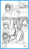 Lilly-Lamb Sketchies 2011 3 by Lilly-Lamb