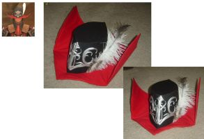 Red Mage Duelist Hat by AmethystArmor