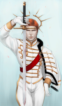 King of Swords by valefor