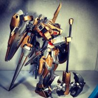 Gundam Kitbash Rytsar - The Other Side View by s00nk1a