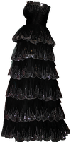 Black Sequen Gown 02 by Thy-Darkest-Hour