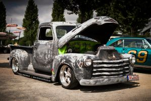 Old Chevrolet Pickup by AmericanMuscle