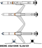 Boeing AGM-84HK SLAM-ER by bagera3005