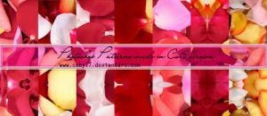 Flower Petals Photoshop Patterns by Coby17