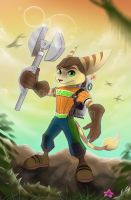 Ratchet and Clank by oOChErRyThEbErRyOo