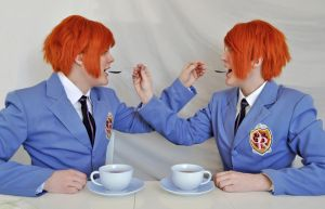 Ouran Twins Cosplay - Tea Time by Kozekito