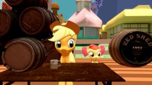 One Day with Applejack by EDplus