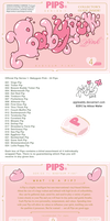 Pips - Package and Preview: Babygum Pink by AppleAtti