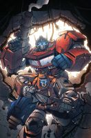 Transformers RID #10 Incentive cover colors by khaamar