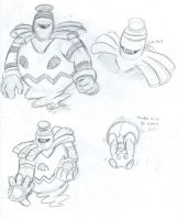 Just some Dusknoir sketches, plus Sarah by PancakeShiners